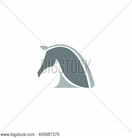 Horse Logo Icon Design Template Vector