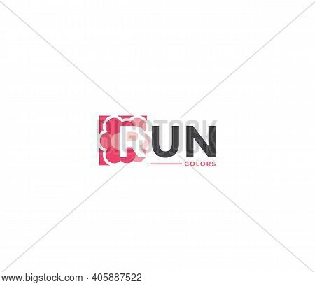 Run Colors Company Business Modern Name Concept