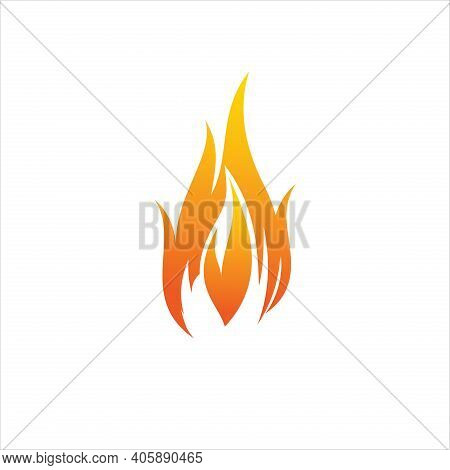 Fire. Burn. Hot. Fire Icon. Fire Symbol. Fire Vector. Fire Symbol. The Fire Is Burning. Fire Red Col