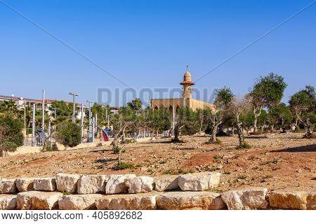 Park Near Sea In Tel Aviv Jaffo. Israel
