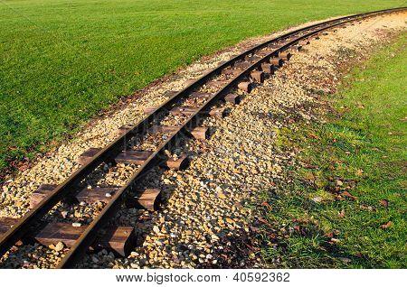 abandoned railtracks