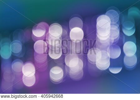 Abstract Multi Colored Background,  Blurred Gradient  Lights