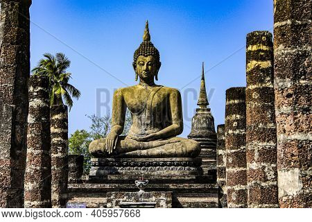 Sukhothai Is The Capital Of The Thai Province Of Sukhothai, Which Is Located In The Lower North Of T