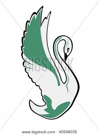 Swan Vector Illustration