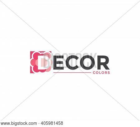 Decor Colors Company Business Modern Name Concept