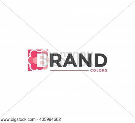 Brand Colors Company Business Modern Name Concept