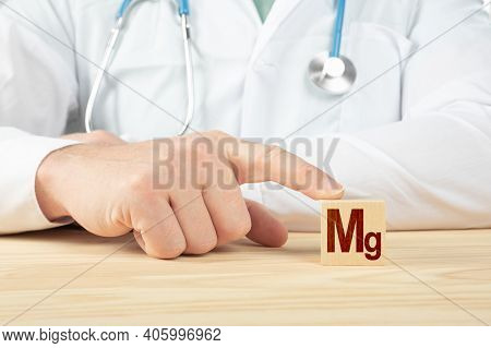 Essential Element And Minerals For Humans. Doctor Recommends Taking Magnesium. Doctor Talks About Th