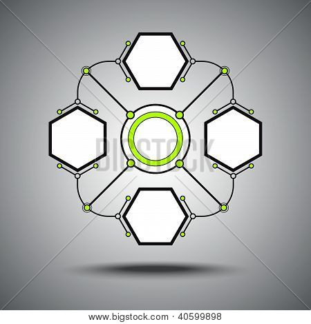 Four Connected Hexagonal Cell