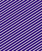Deep purple background is covered in diagonal stripes. Soft shadow lines each stripe. poster