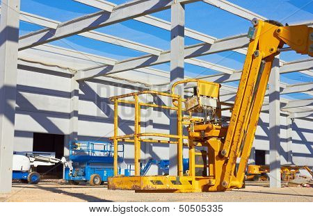 Hydraulic Mobile Construction Platform