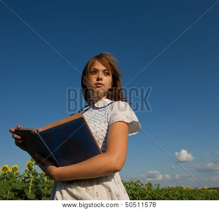 Girl With An Album