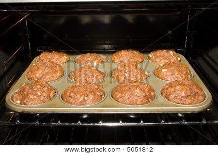 Baking Pan In Oven