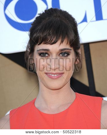 LOS ANGELES - AUG 04:  Lizzy Caplan arrives to CBS Showtime CW All Star Winter TCA Party 2013  on July 29, 2013 in Beverly Hills, CA