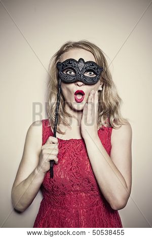 Girl With A Mask