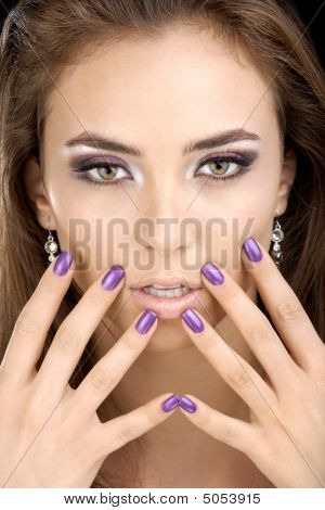 The Girl With Manicure