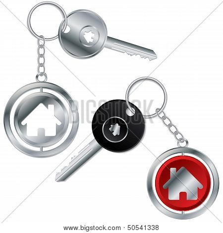 Keys With House Keyholders