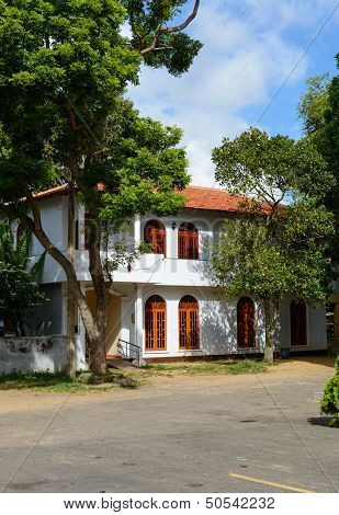 Sri Lanka. Negombo. Historic Building.