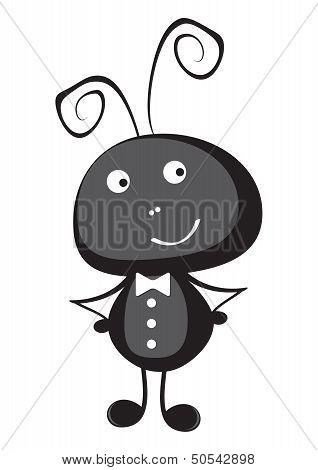Ant vector illustration.