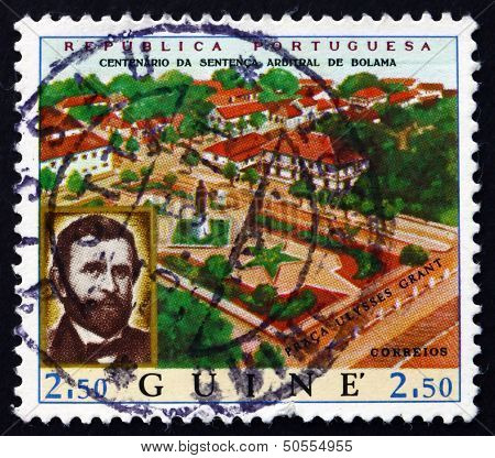 Postage Stamp Portuguese Guinea 1970 View Of Bolama