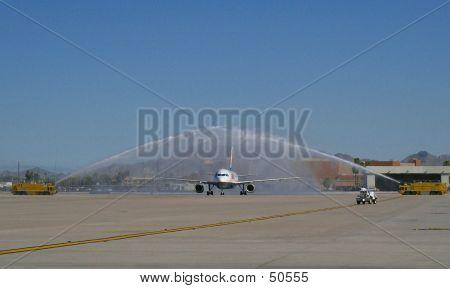 Aircraft Shower