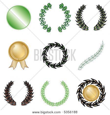 Nine Wreaths And Awards