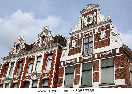 Old historic facades