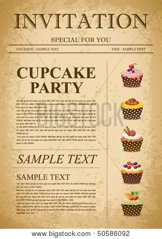 Cupcake background 12