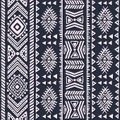 Abstract tribal pattern. This is file of EPS10 format. poster