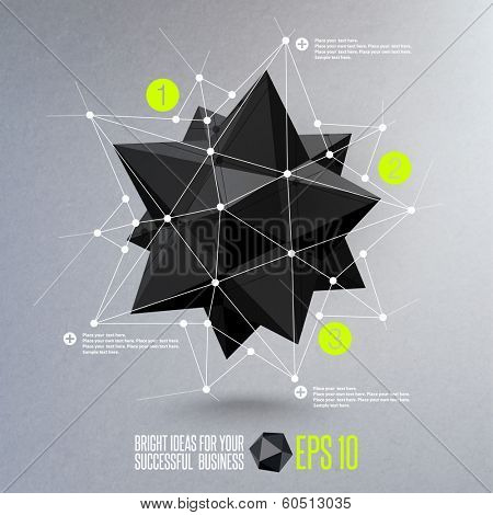 Abstract geometric vector illustration