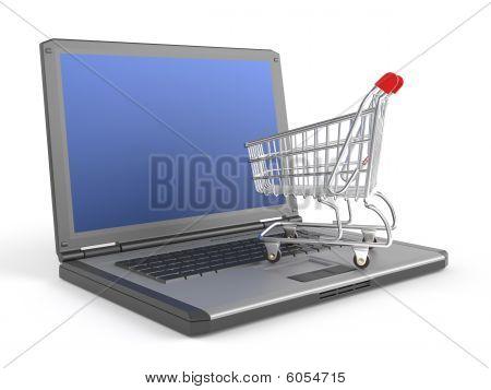 E-shopping Concept