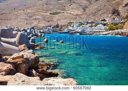 Small Village Chora Sfakion, Crete