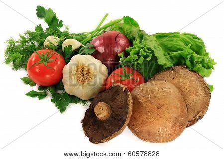 Organic Ingredients And Seasonings For Preparation Of Grilled Burgers