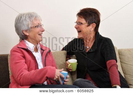Kaffee lachen
