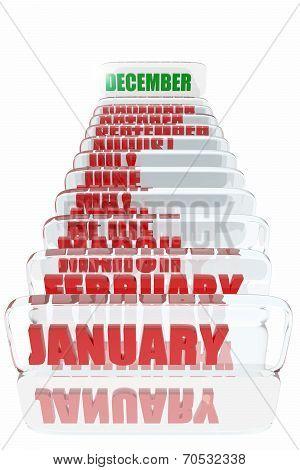 December Month In The Calendar