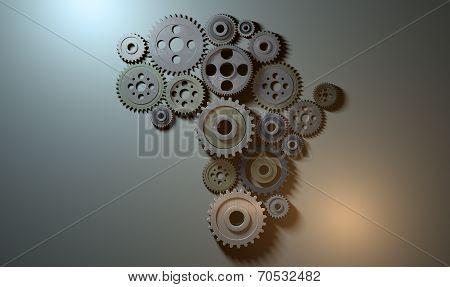 African Cogwheel Machine