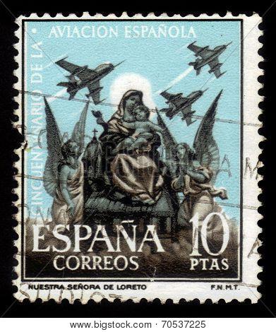 Madonna Of Loretto, Patron Saint Of Spanish Airmen