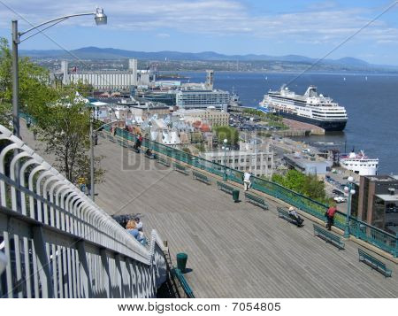 Quebec City Harbour