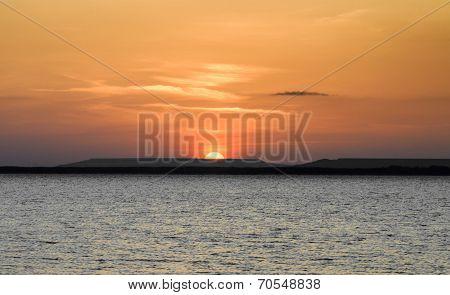 Sunrise over Islands
