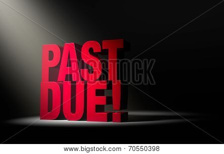 Past Due Warning