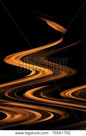 Fire and Flame Background - Leaping Heat