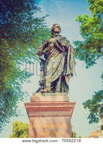 Mendelssohn Denkmal Leipzig