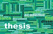 Thesis Paper and Academic Essay as Concept poster