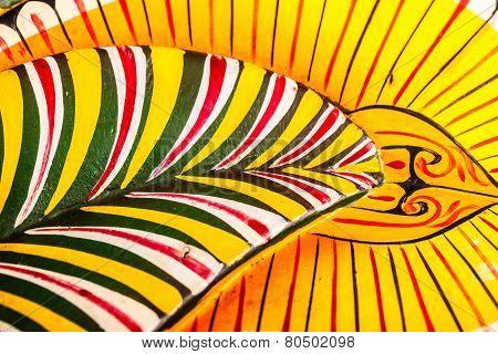 Sri Lankan Mask Detail