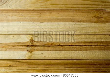 Background From Pine Boards