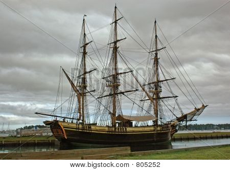 Ship in Salem