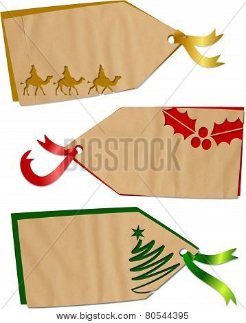 Christmas Holiday Tags