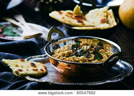 Dhal With Pumpkin. Indian Cuisine