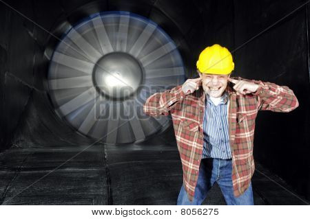 Noise Inside A Windtunnel