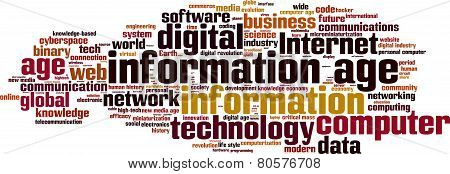 Information Age Word Cloud