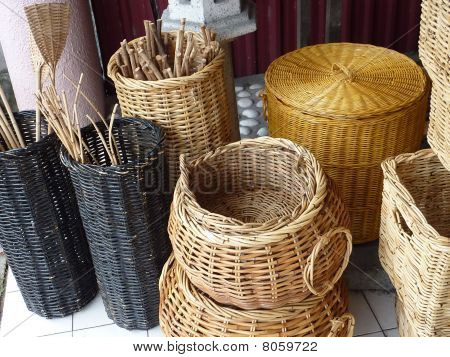 Hand made bamboo product